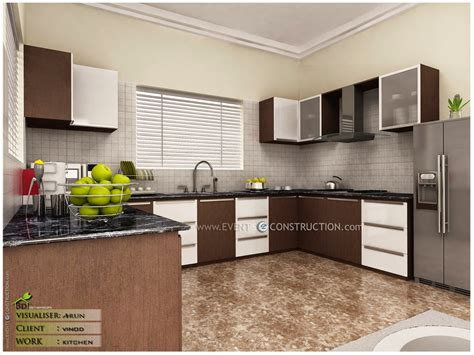 small kitchen design in kerala style and kerala style