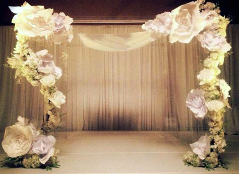 paper flowers the new trend in weddings big city