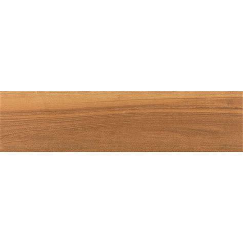shop style selections nott gunstock wood look porcelain