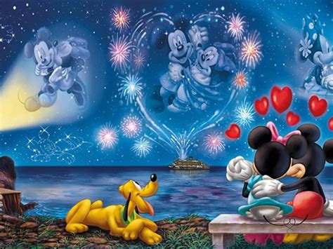 walt disney mickey  minnie love couple wallpaper hd  wallpaperscom