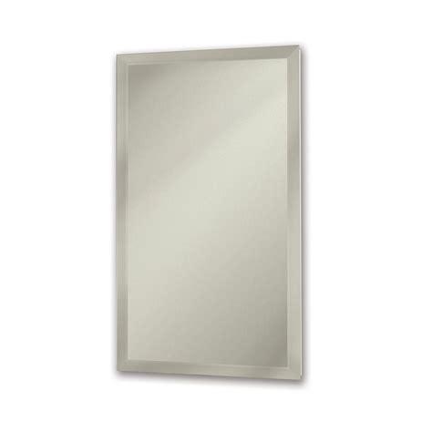 kohler stainless steel medicine cabinet kohler archer 20 in x 31 in recessed or surface mount