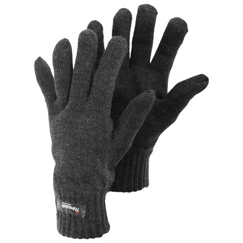 mens knit gloves mens heatguard thinsulate thermal knitted winter gloves ebay