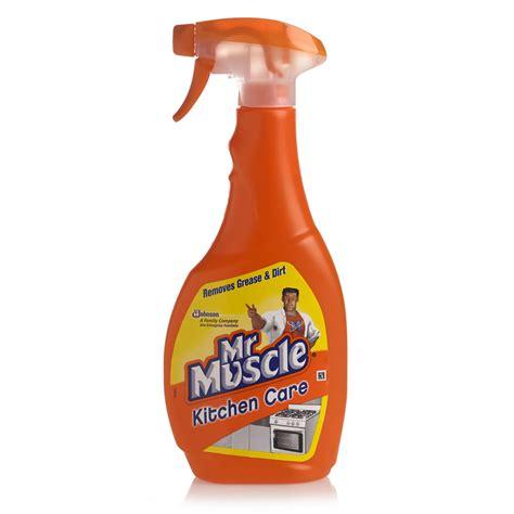 kitchen sheved mr kitchen care spray 500ml at wilko