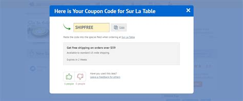 table coupons 5 sur la table promo code october 2018 100 coupon