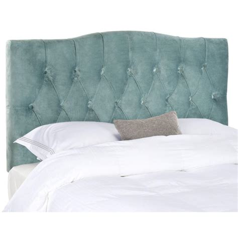 safavieh axel wedgwood blue queen headboard mcr4682a the