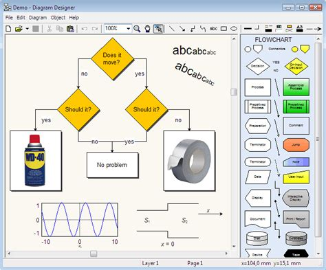 flow diagram freeware 5 of the best diagram and flowchart software for windows