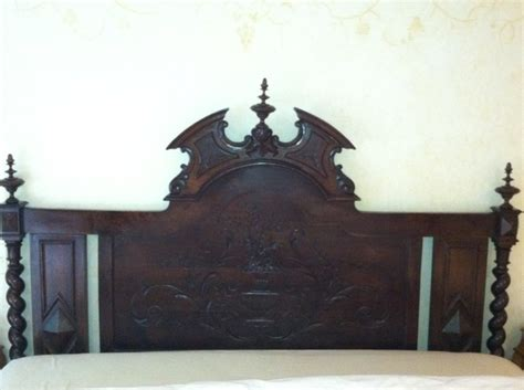 antique wood headboards king size antique headboard intricately carved wood king size head