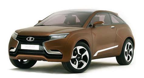 Lada Auto Autovaz Premiers New Lada X Concept In Moscow