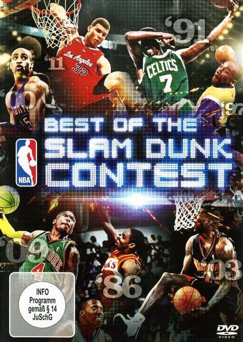 best of slam dunk contest nba best of the slam dunk contest dvd oder
