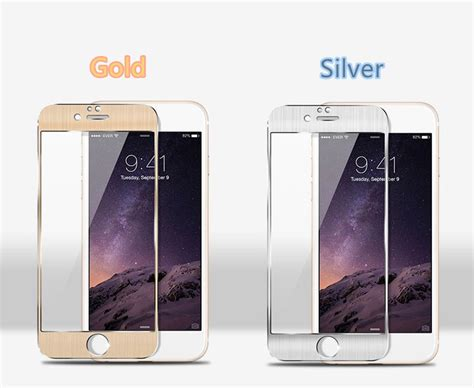 Tempered Glass Metal Gold Fullset Iphone 6 2018 Best Samsung Galaxy Note Edge And Iphone 6