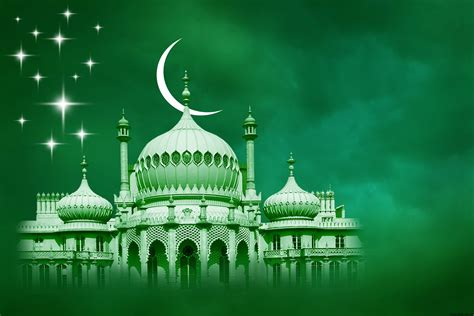 Green Islamic Free Ppt Backgrounds Islamic Powerpoint