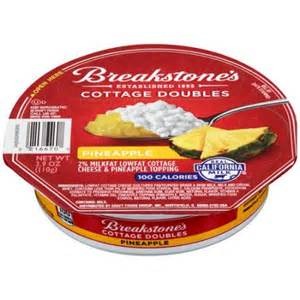 cottage cheese toppings breakstone s cottage doubles cottage cheese pineapple