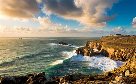 lands  cornwall england widescreen wallpaper wide wallpapersnet