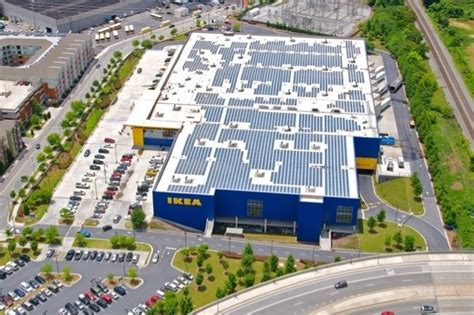 ikea ma ikea to increase size of existing solar energy system by