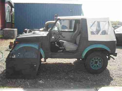 Suzuki Samurai Doors Purchase Used 1986 Suzuki Samurai Jx Sport Utility 2 Door