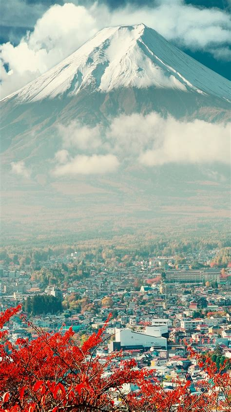 e7 themes hd download mount fuji japan city iphone 6 wallpaper phone