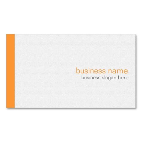 Plain Card Template by 17 Best Images About Plain Minimalist Business Card