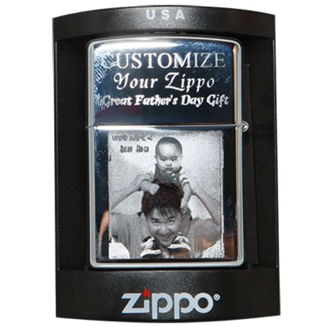 Photo Engraved Zippo Lighter Personalized   Spectracoloronline.com