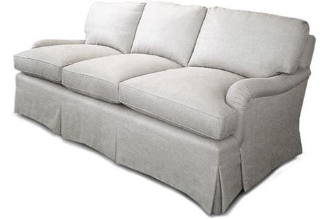 loose pillow back sofa loose back sofa elmhurst loose back cushion sofa beige