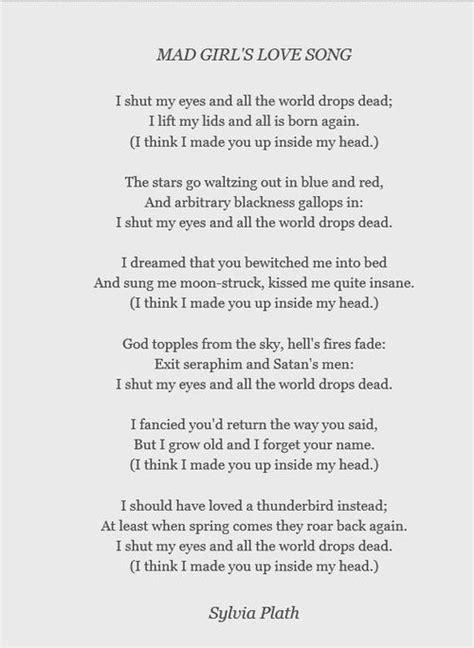 Pin by Savanna Rowan on Obscenely Well Read | Plath poems