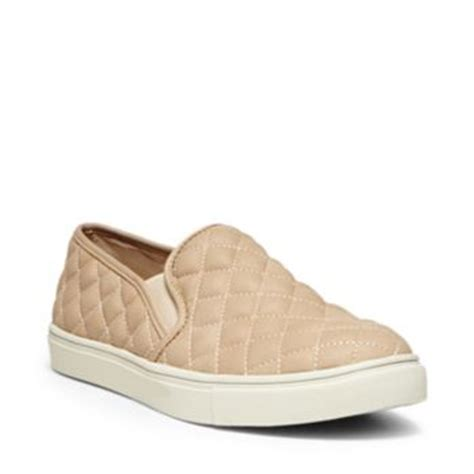 Steve Madden Ecentrcq by Leather Slip On Sneakers Steve Madden Ecentrcq