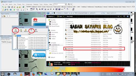 delphi software tutorial cara memasang komponen tms delphi 7 full tutorial