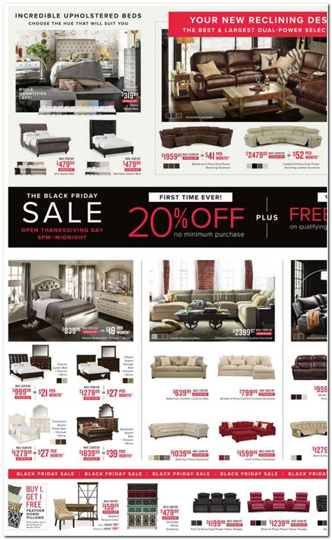recliners black friday sale value city furniture black friday ads sales deals 2017