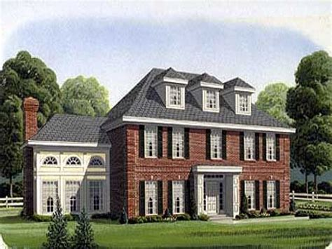 colonial style house plans southern colonial style house plans georgian style house