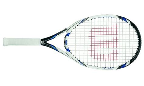 Raket Tenis Tennis Wilson Three Blx wilson three blx 113 tennis racquet review sport