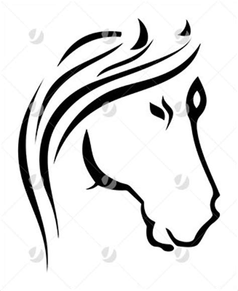 tribal horse head tattoo designs tattoos and horses on