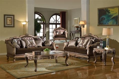 Bronze Table Ls For Living Room Bronze Formal Living Room Set Dallas Designer Furniture
