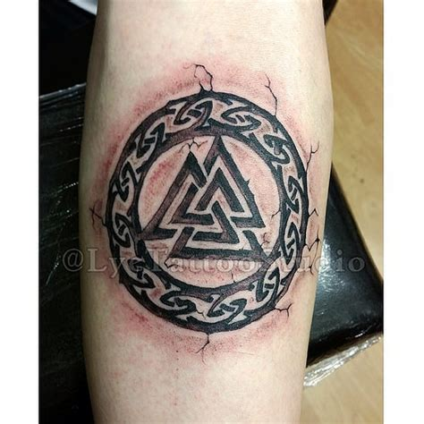valhalla tattoo designs valhalla symbol tattoos inked ink tattooar