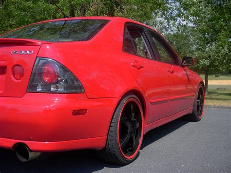 captainsparklez toyota 100 lexus is300 red modified lexus is300 first