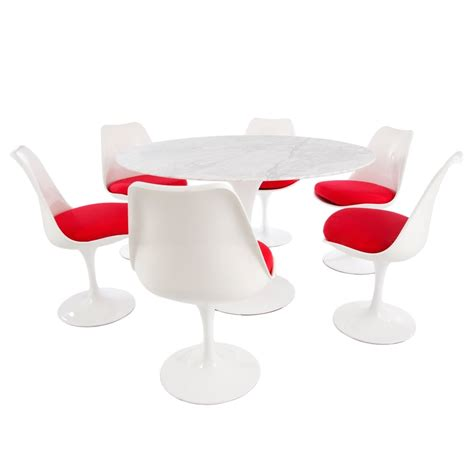 eero saarinen tulip chair white red eero saarinen inspired tulip style dining set 120cm