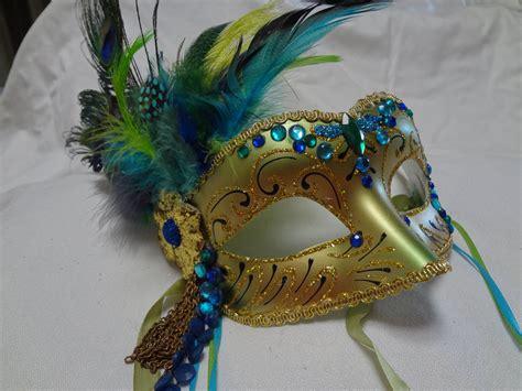 Handmade Mardi Gras Masks - handmade masquerade mask carnival mardi gras costume