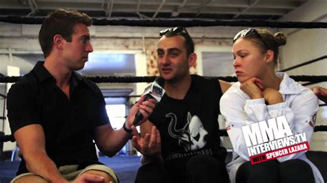 how much does ronda rousey bench ronda rousey s striking coach edmond tarverdyan says he