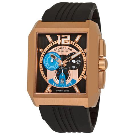 Swiss 8151 Black Rosegold List stuhrling original s watches