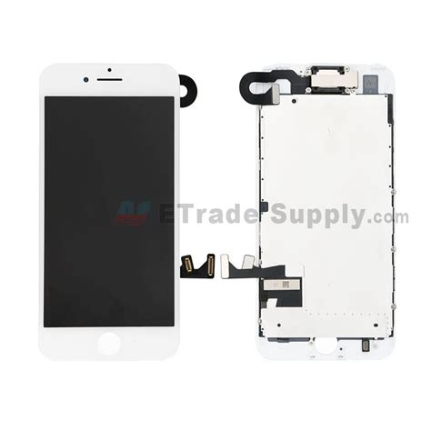 Lcd Iphone 7 for apple iphone 7 lcd screen and digitizer assembly with frame and small parts without home