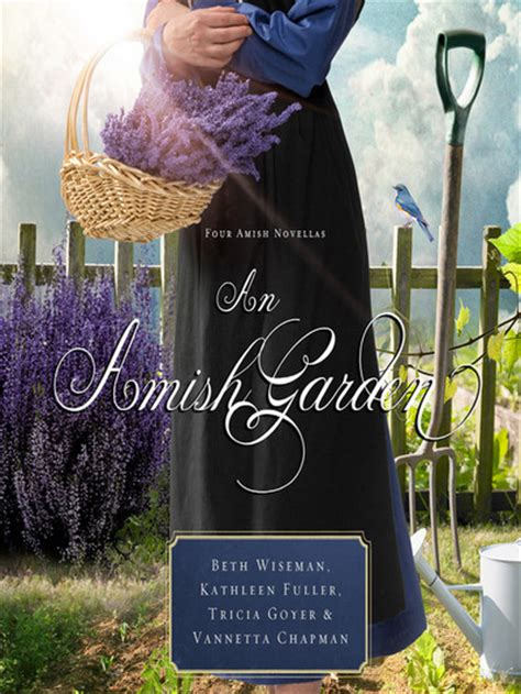 the amish and garden amish outcasts books an amish garden by beth wiseman vannetta chapman