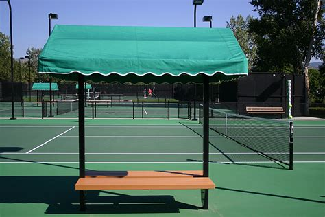 tennis court bench 8ft tennis cabana bench 5 shipping to lower 48 states