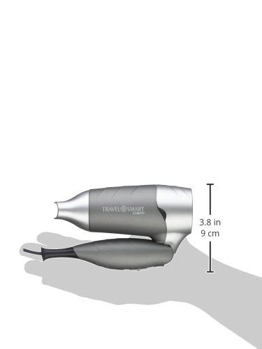 Travel Smart Hair Dryer Conair travel smart by conair dual voltage 1200 watt folding hair