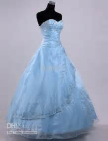 Pale blue wedding gown wedding gowns colorful pinterest