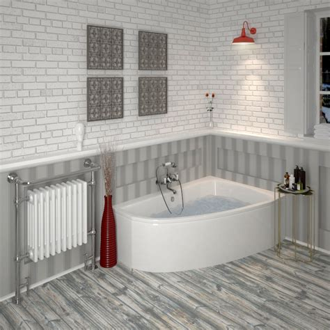 Clia Right Hand Offset Corner Bath Panel Buy Online At Bathroom With Corner Shower