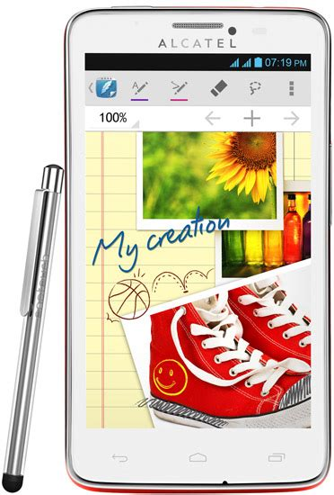 Hp Alcatel X Scribe alcatel one touch scribe easy pictures official photos