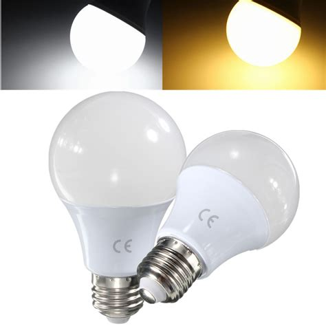 E27 7w 2835 Smd Led Globe Light L Bulb Pure White Warm E27 Led Light Bulb