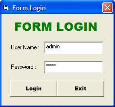 membuat form login sederhana html tutorial membuat form login sederhana di vb cyber