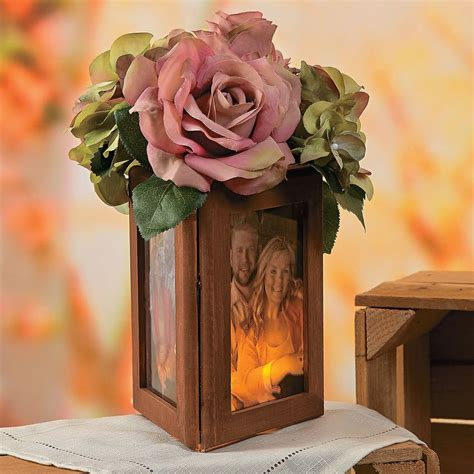 picture frame centerpiece ideas wood frame centerpiece idea orientaltrading wedding mothers other and
