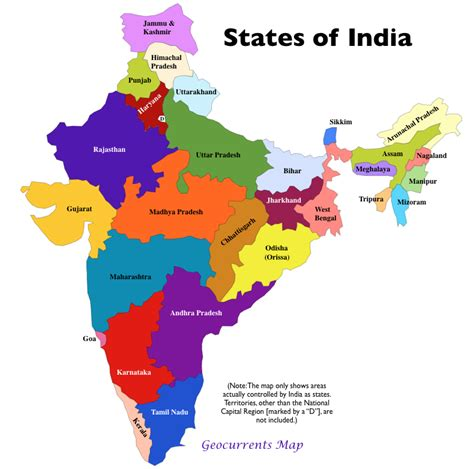 indian states new maps of india and of the indian economy geocurrents