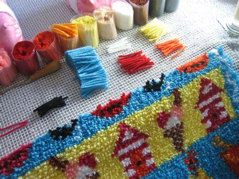 cheap latch hook rug kits beside the seaside latch hook rug kit