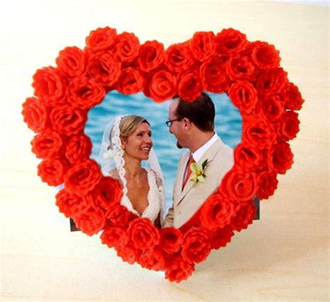 cornice a forma di cuore regali di san valentino per una ragazza foto tempo